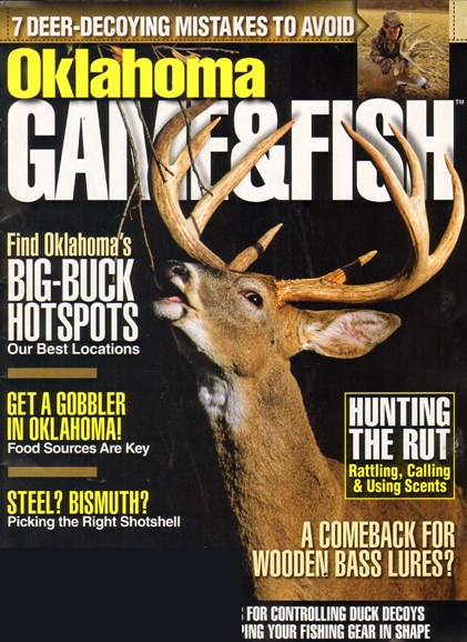 Oklahoma Game & Fish Cover - 11/1/2010