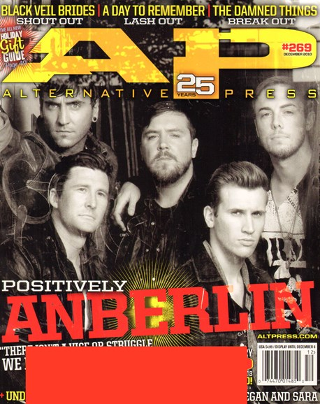 Alternative Press Cover - 12/1/2010