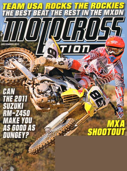Transworld Motocross Cover - 12/1/2010