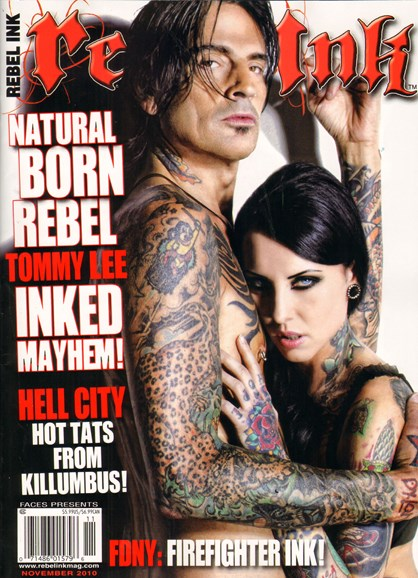 Rebel Ink Cover - 11/1/2010