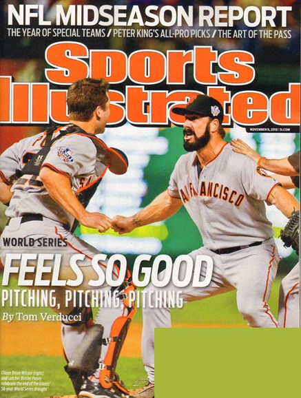 Sports Illustrated Cover - 11/8/2010