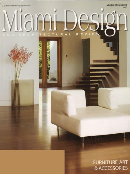 Miami Design & Architectural Review Cover - 12/1/2010