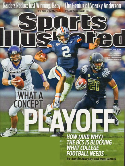 Sports Illustrated Cover - 11/15/2010