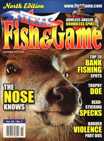 Texas Fish & Game Cover - 11/1/2010