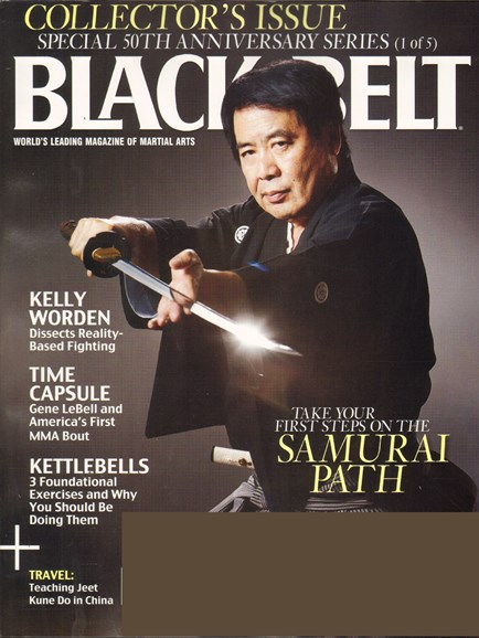 Black Belt Magazine Cover - 1/1/2011