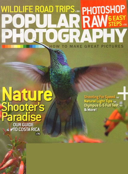 Popular Photography Cover - 12/1/2010
