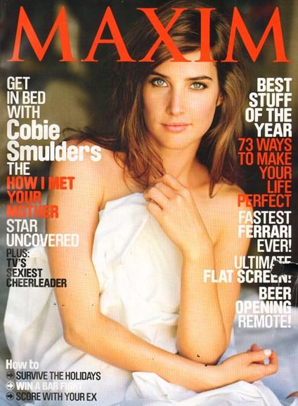 Maxim Cover - 12/1/2010
