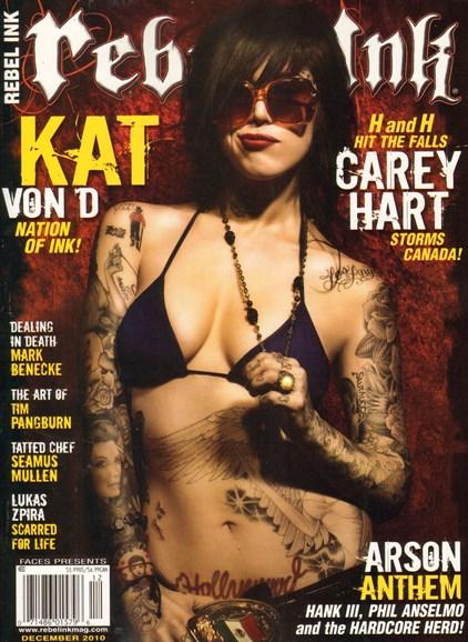Rebel Ink Cover - 12/1/2010