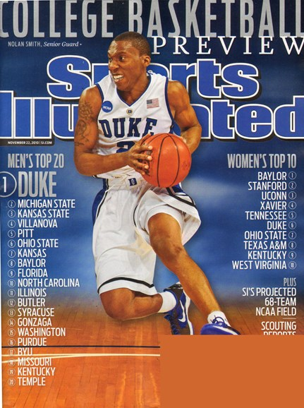 Sports Illustrated Cover - 11/22/2010