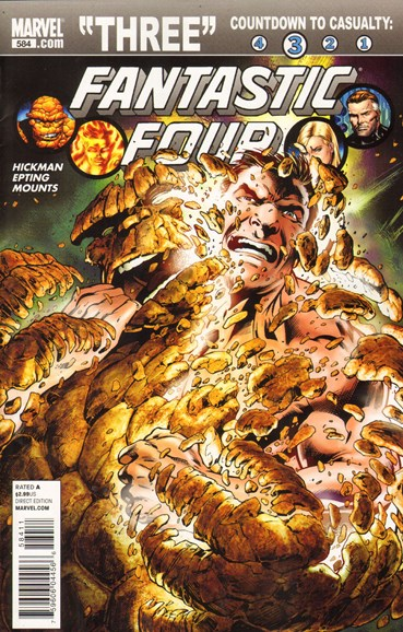 Fantastic Four Cover - 12/1/2010