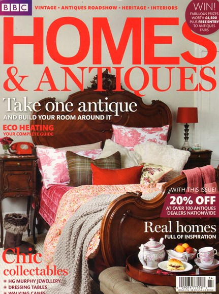 Homes & Antiques Cover - 12/1/2010