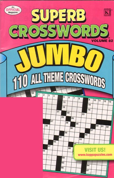 Superb Crosswords Jumbo Cover - 12/1/2010
