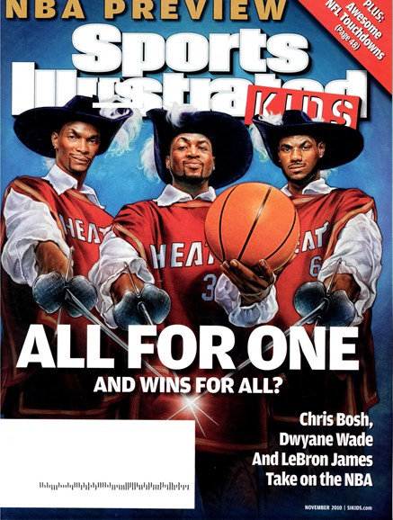 Sports Illustrated Kids Cover - 12/1/2010