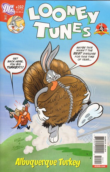 Looney Tunes Cover - 1/1/2011