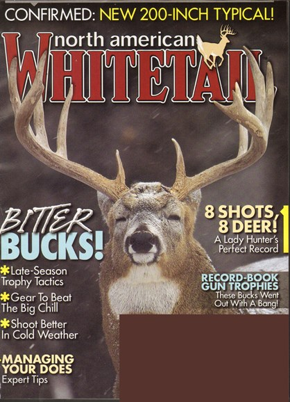 North American Whitetail Cover - 1/1/2011