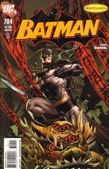 Batman Cover - 1/1/2011