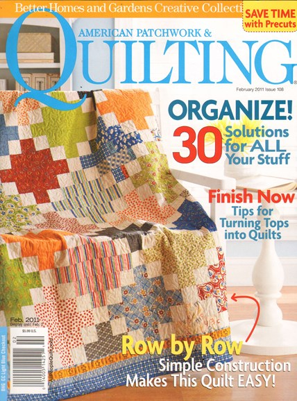 American Patchwork & Quilting Cover - 2/1/2011