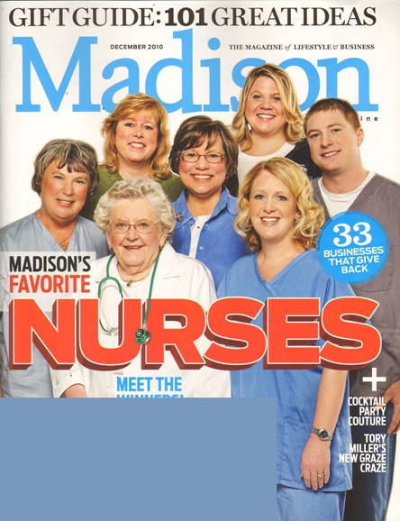 Madison Magazine Cover - 12/1/2010