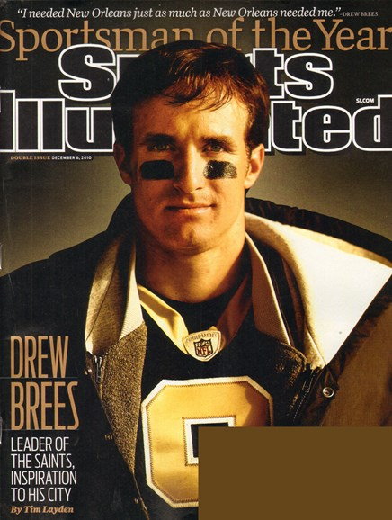 Sports Illustrated Cover - 12/6/2010