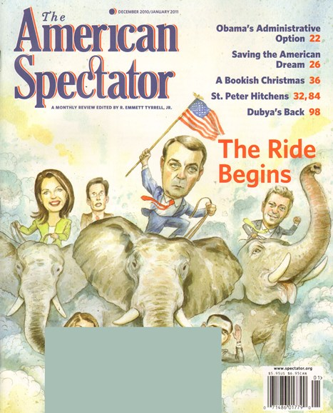 The American Spectator Cover - 12/1/2010