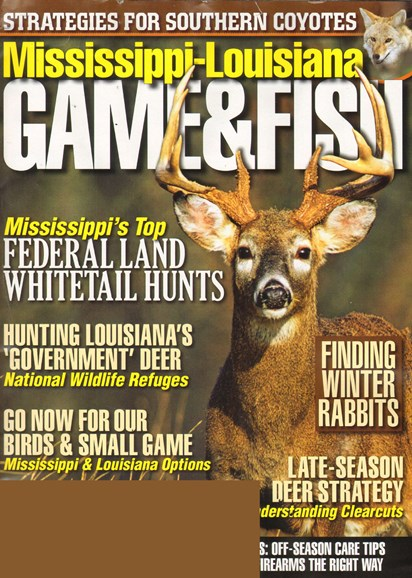 Mississippi Game & Fish Cover - 12/1/2010
