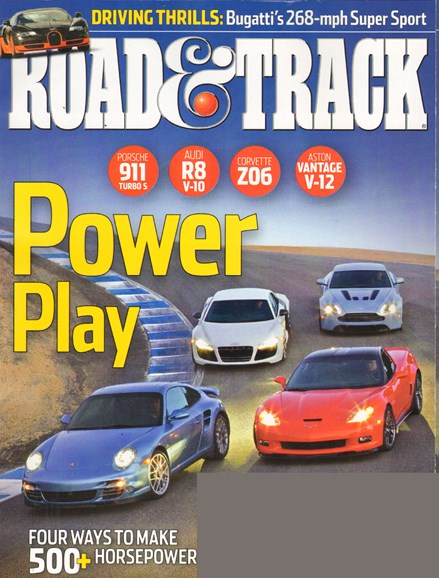 Road & Track Cover - 1/1/2011