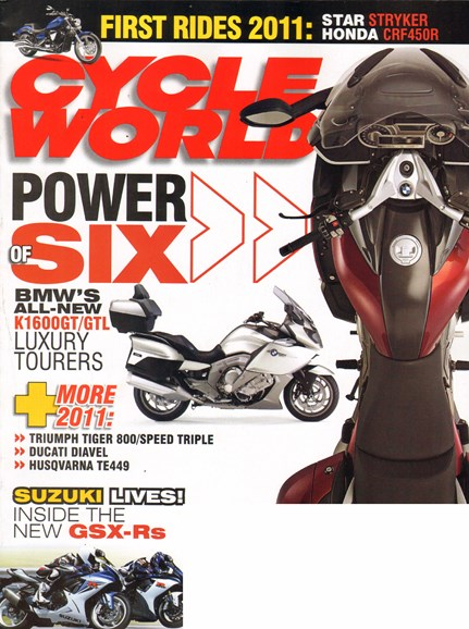 Cycle World Cover - 1/1/2011