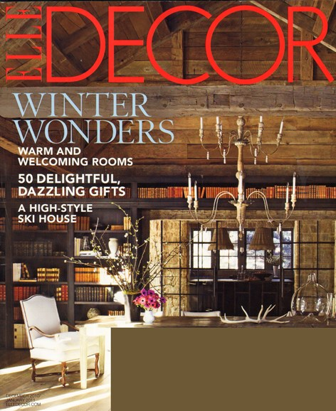 ELLE DECOR Cover - 1/1/2011