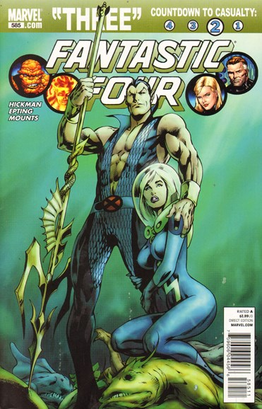 Fantastic Four Cover - 1/1/2011