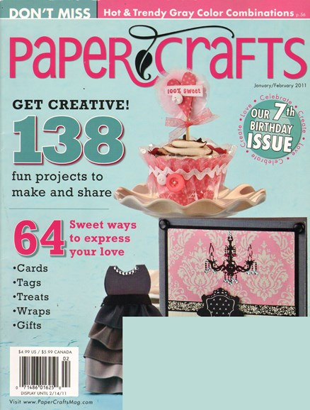 Paper Crafts Cover - 1/1/2011