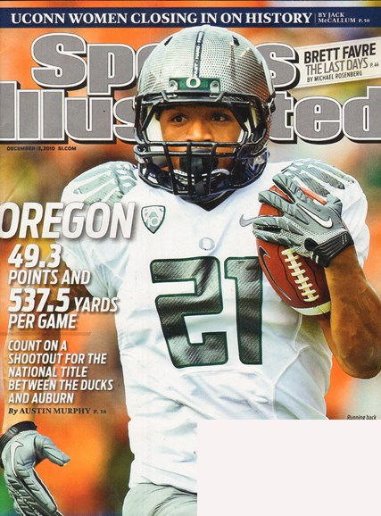 Sports Illustrated Cover - 12/13/2010