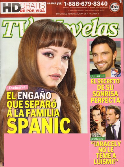 Tv Y Novelas Cover - 12/1/2010