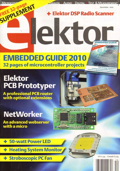 Elektor - North American Edition Cover - 12/1/2010