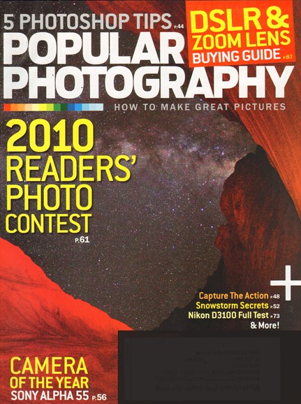 Popular Photography Cover - 1/1/2011