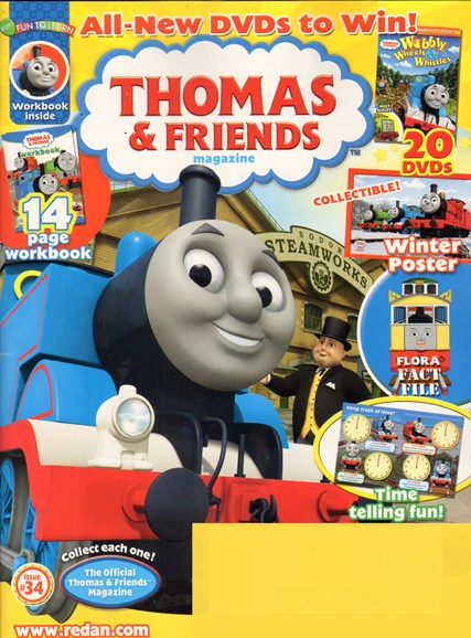 Thomas & Friends Cover - 1/1/2011