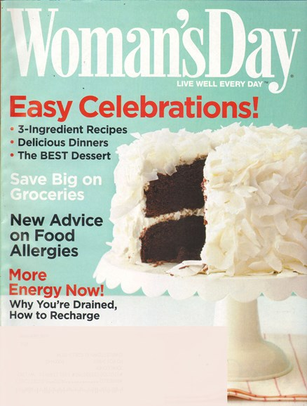 Woman's Day Cover - 1/1/2011