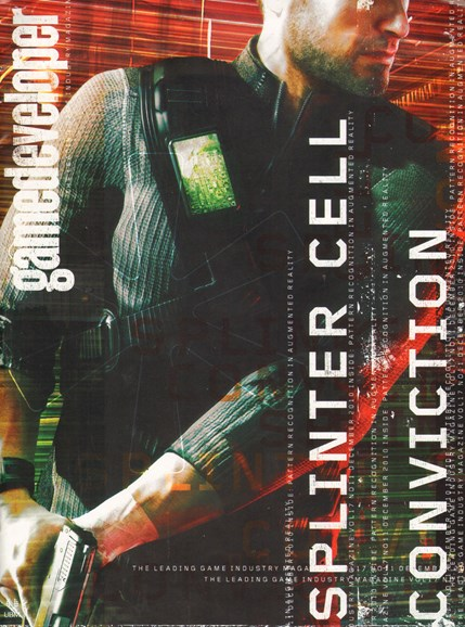 Game Developer Cover - 12/1/2010