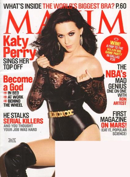 Maxim Cover - 1/1/2011