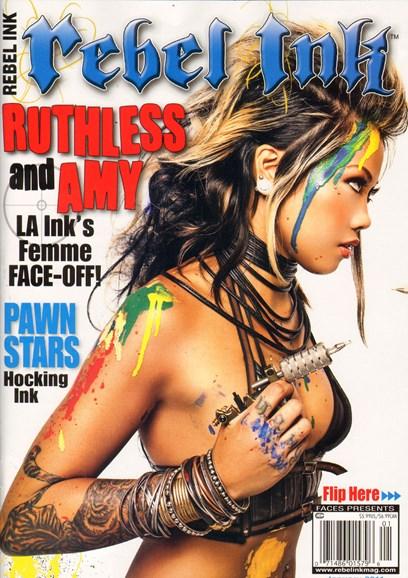 Rebel Ink Cover - 1/1/2011