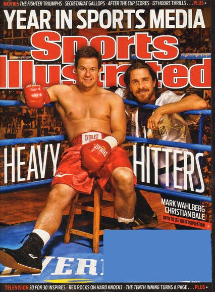 Sports Illustrated Cover - 12/20/2010