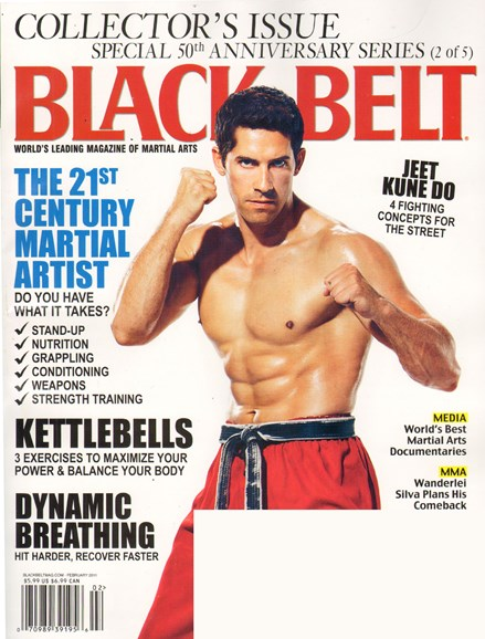 Black Belt Magazine Cover - 2/1/2011