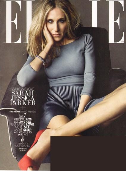 ELLE Cover - 1/1/2011
