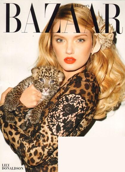 Harper's Bazaar Cover - 1/1/2011