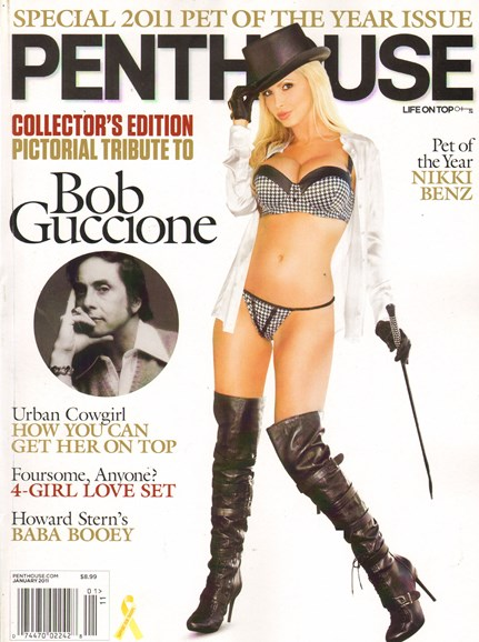 Penthouse Cover - 1/1/2011