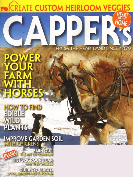 Capper's Cover - 1/1/2011