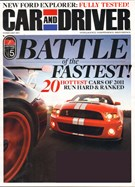 Car And Driver Magazine 2/1/2011