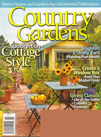Country Gardens Cover - 3/1/2011