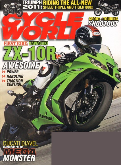 Cycle World Cover - 2/1/2011