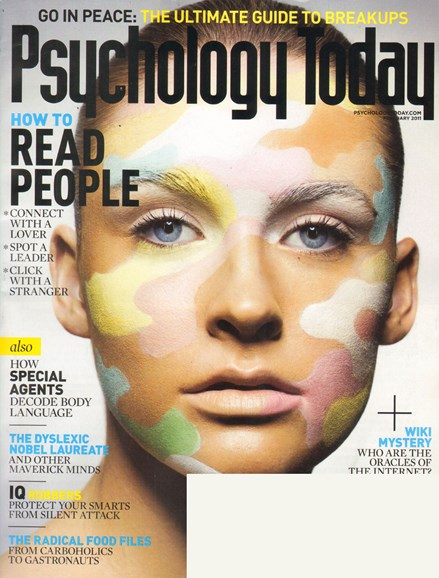Psychology Today Cover - 2/1/2011