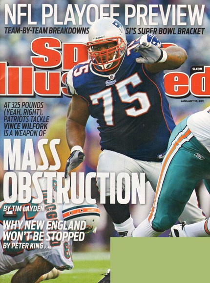 Sports Illustrated Cover - 1/10/2011